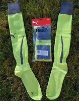 PUMA Socken Stutzen Socks Strümpfe Größe 43-46 + NEU + wild lime dark shadow +