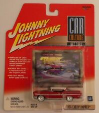 NEW RARE 1/64 JL CAR CULTURE Art Cars 1958 Chevy Impala Lowrider Red & White