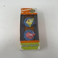 Nickelodeon Spongebob Squarepants and Patrick Star Drawer Handles Pulls New 2004