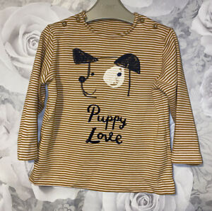 Boys Age 12-18 Months - M&S Long Sleeved Top