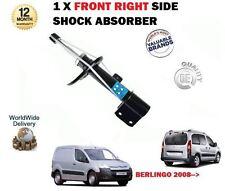 FOR CITROEN BERLINGO MPV + VAN 2008-> 1X RIGHT SIDE FRONT SHOCK ABSORBER SHOCKER