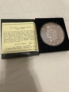 1 Troy Pound .999 Fine Silver Proof Kennedy Coin