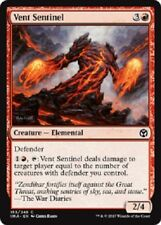 4x Vent Sentinel NM Iconic Masters MTG Red Common