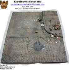 BASE 160x150 mm CALLE ADOQUINADA 1:35 PAVED STREET RUIN