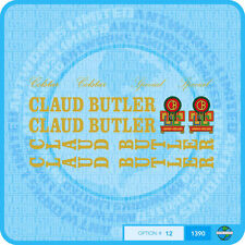Claud Butler - Colstar - Special - Bicycle Decals Transfers Stickers - Set 12