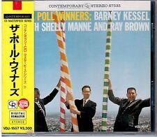 "THE POLL WINNER  / BARNEY KESSEL""    CD CONTEMPORARY ED.JAPAN NEW SEALED"