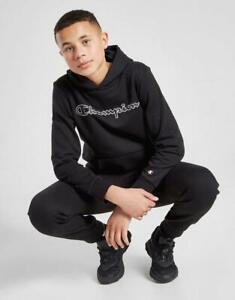 New CHAMPION Boys' Legacy Overhead Fleece Hoodie from JD Outlet