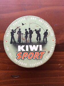 """Australian Vintage """"Kiwi Sport"""" Tin"""