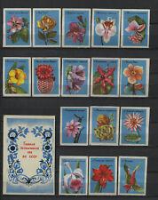 Complete Set of 16 Vintage Russian Matchbox Labels