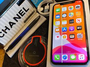Apple iPhone X (64gb) Verizon World-Unlocked (A1901) Black: LCD iSSue {iOS13}83%
