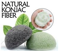 Natural Organic Konjac Jelly Konnyaku Face Cleaning Sponge Face Scrub Exfoliator
