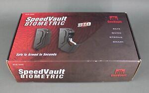 GunVault SVB 500 SpeedVault Biometric Handgun Safe Steel Black New in Box