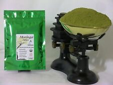 Organic Moringa Oleifera Raw Leaf Powder 200gms - CERTIFIED NON GMO - UK Seller