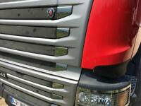 SCANIA NEW STREAMLİNE CHROME FRONT GRİLL SİDE 12PCS S.STEEL