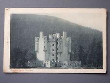 R&L Postcard: Scotland Old Mar Castle Braemar, LS&S