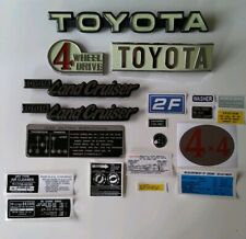 Toyota Land Cruiser Fj 40 2f Emblems And Decals