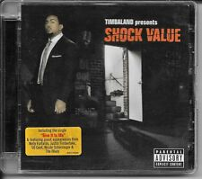 CD ALBUM 18 TITRES--TIMBALAND--SHOCK VALUE--2007