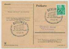 Sonderstempel BERLIN C2 9.3.62, Haus der jungen Talente (26162)