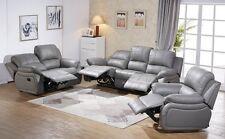 Voll-Leder Fernsehsessel TV-Sofa Relaxsessel Fernsehsofa 5129-3+2+1-0326