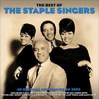 STAPLE SINGERS  * 40 Greatest Hits  (Early Gospel Years)  * NEW 2-CD Box Set *
