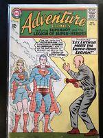 Adventure Comics #325 (Oct 1964)  5.0 Fine - Lex Luthor & Supergirl on cover!!