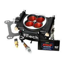 FiTech Fuel Injection System 30004; Go EFI 600 HP Throttle Body Black Finish