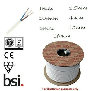 LSF Twin & Earth 1mm 1.5mm 2.5mm Quality Electrical Cable Wire Cut To Size 6242Y