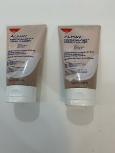 2- Almay Makeup Remover Cream Cleanser With Moisturizing Rice Milk 4.5 Fl. Oz.