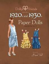 Dollys and Friends 1920s and 1930s Paper Dolls: Molly and Jolly Love 1920s and 1