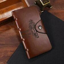Men's Retro Long Wallet Cowboy Billfold Clutch Credit Card Holder Purse Handbag