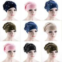Scarf Hair Loss Hijab Head Wrap Braid Women Turban Cap Muslim Cancer Chemo Hat