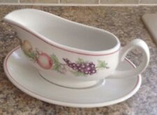 BOOTS ORCHARD GRAVY BOAT AND DISH (CRS1)