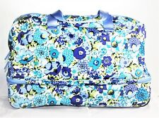 Vera Bradley Lighten Up Wheeled Carry On Blueberry Blooms NWT