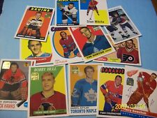 "2001-02 Topps / O-Pee-Chee ""Archives Rookie Reprints"" Complete (81 Card) Set!"
