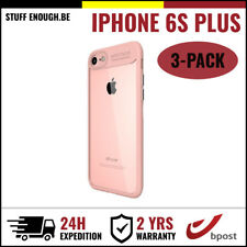 3IN1 Focus Cover Cas Coque Etui Silicone Hoesje Case For iPhone 6S Plus Pink