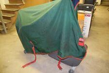 "Rambo Horsewear Rug Turnout Blanket No Fill- Sheet Green 78"""