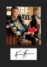 KURT RUSSEL #2 A5 Signed Mounted Photo Print - FREE DELIVERY