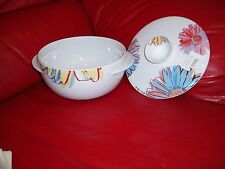 ROSENTHAL A.WARHOL. DAISIES. COVERED VEG. BOWL . RETAIL  $550.00...GREAT GIFT!!!