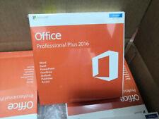 Microsoft Office 2016 Professional Plus Brand New & Sealed Box