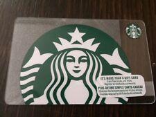 "Canada Series Starbucks ""SPARKLING SIREN 2018"" Gift Card New No Value"