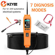 Kzyee KM50 12V&24V PowerScan Circuit Tester 7 Mode Electrical Power Tester Tool