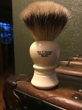 Geo F Trumper Super Badger Shaving Brush (Simulated Ivory)