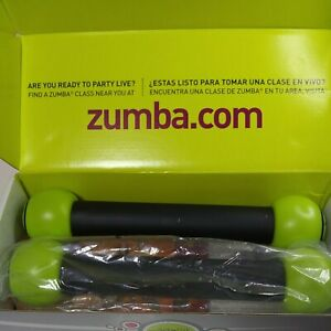 """Zumba Fitness """"Join The Party"""" With Rattle Shakers and 4 DVDs And Guide"""