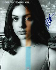 Odeya Rush signed Lois Lowry' The Giver 8x10 photo