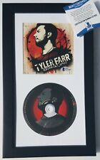 TYLER FARR SIGNED CD DISPLAY BECKETT COA RARE AUTOGRAPHED COUNTRY MUSIC ALBUM