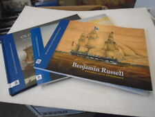 3 Nice New Bedford Whaling Museum Art Books William Bradford-Benjamin Russell