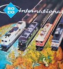 Vintage Lot of 5 ROCO MODEL TRAIN Catalogues 1977-1980 Electric Trains in German