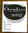"Chambers Model ""b"" Factory Manual - Vintage Chambers Range Series photo"
