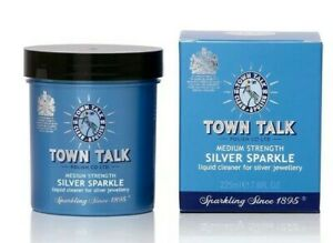 Silver jewellery cleaner dip sparkle by town talk 225ml