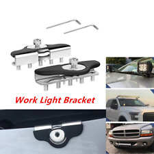 Hood Mounting Brackets Led Work light Bars Clamp Holder Fit For Almost All Car